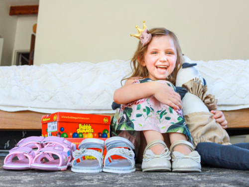 Shoes for Girls and Boys Designed for Gigantic Adventures