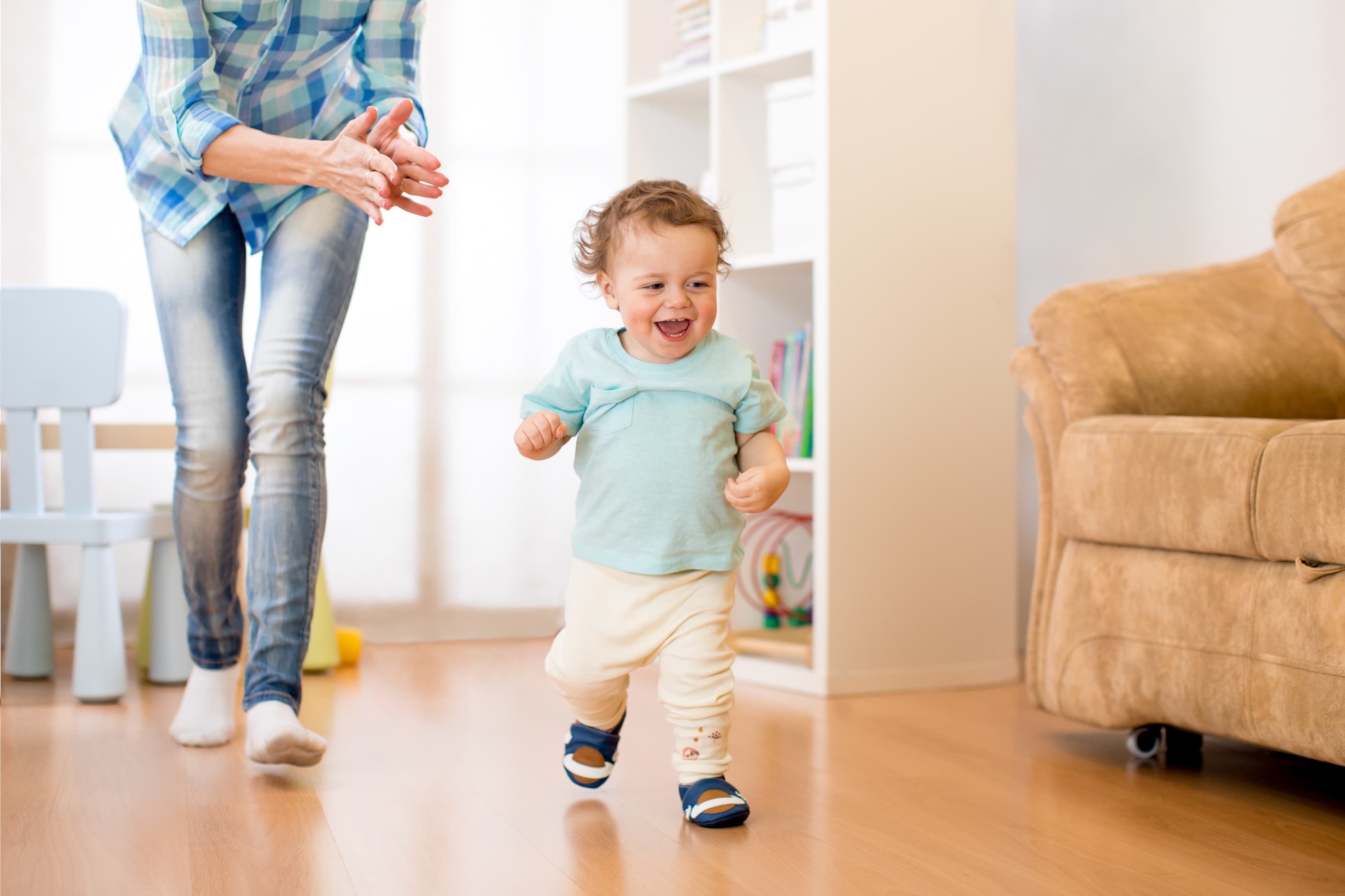 milestones and first steps for your baby